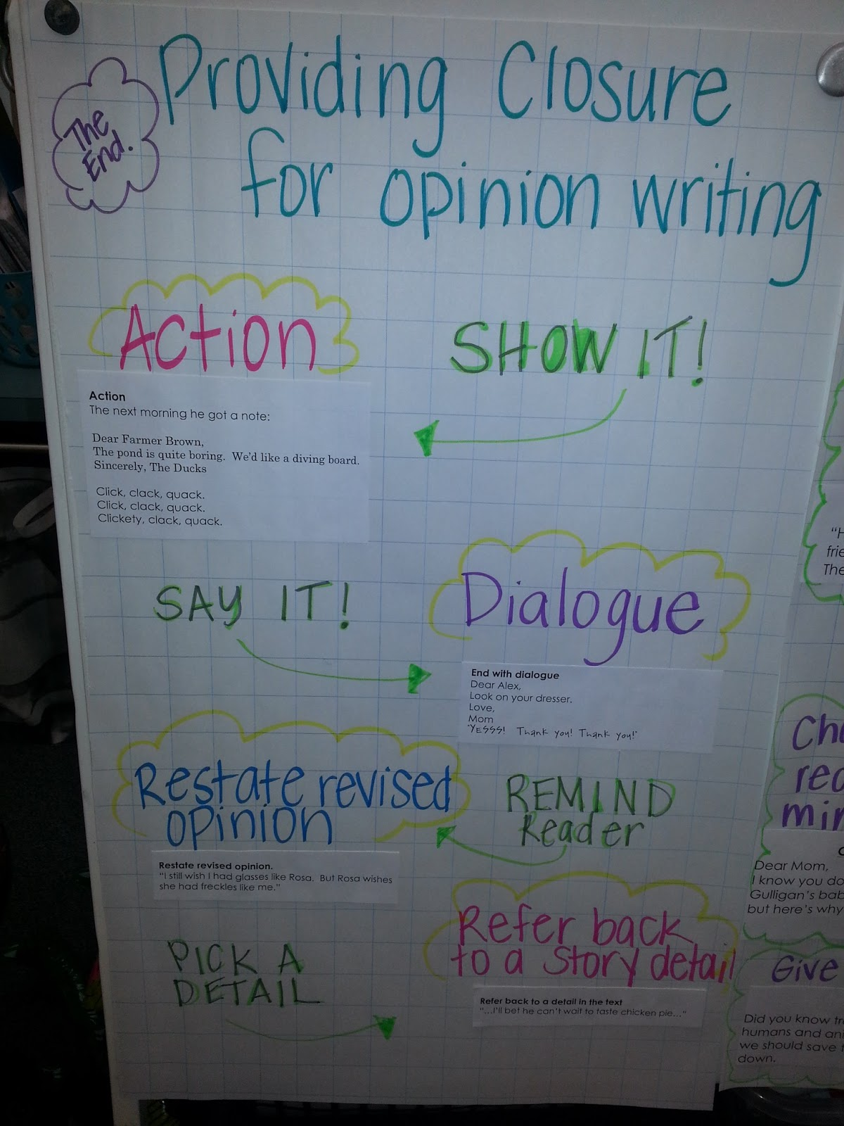 The Go To Teacher Strengthening Our Opinion Writing